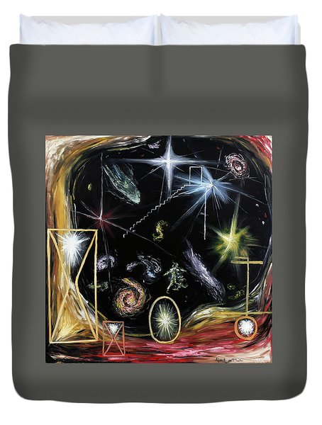 It's Full Of Stars  Duvet Cover by Ryan Demaree
