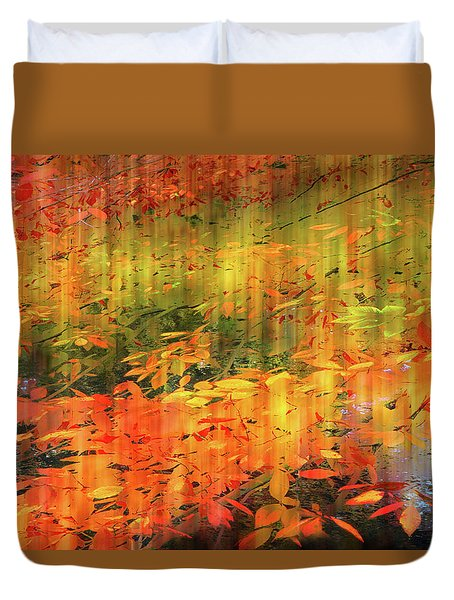 Duvet Cover featuring the photograph It's Nature's Way by Jessica Jenney