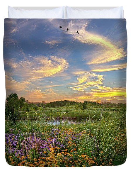 It's Time To Relax Duvet Cover