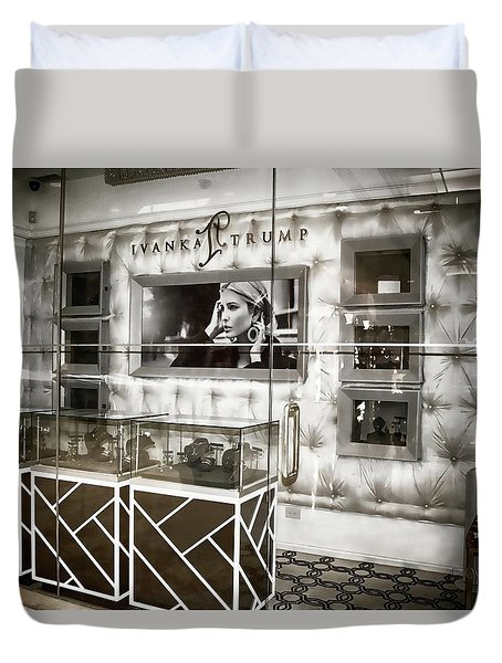 Ivanka Trump Store Duvet Cover by Dyle Warren