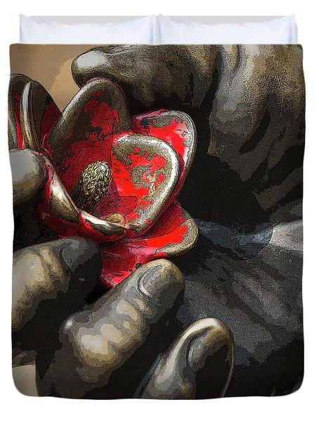 Ivan's Hand Duvet Cover