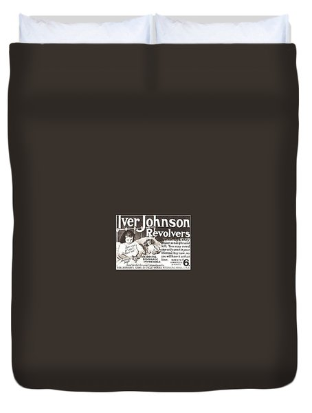 Iver Johnson Revolvers Duvet Cover