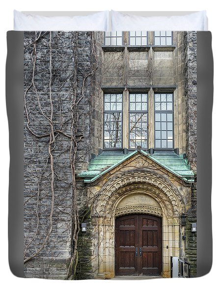 Ivy And The Door Duvet Cover