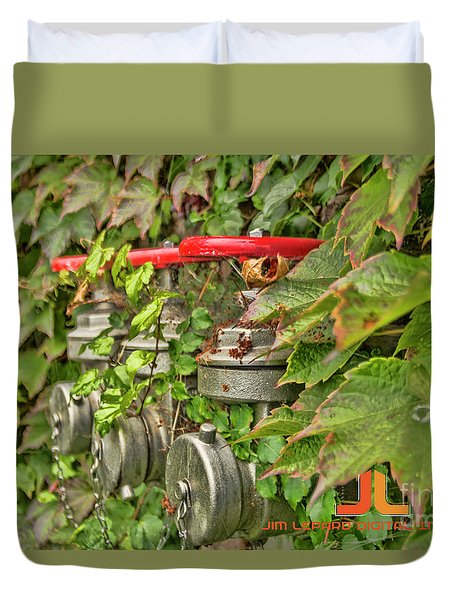 Ivy Standpipe Duvet Cover