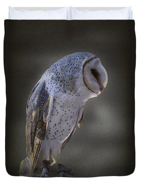 Ivy The Barn Owl Duvet Cover