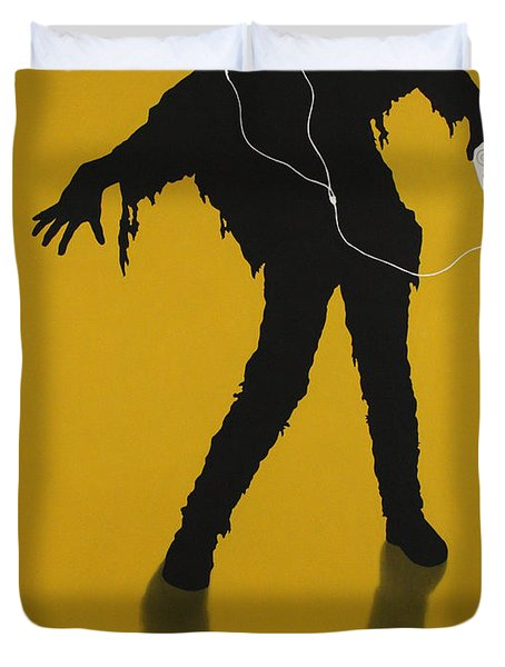 iZombie Duvet Cover by James W Johnson