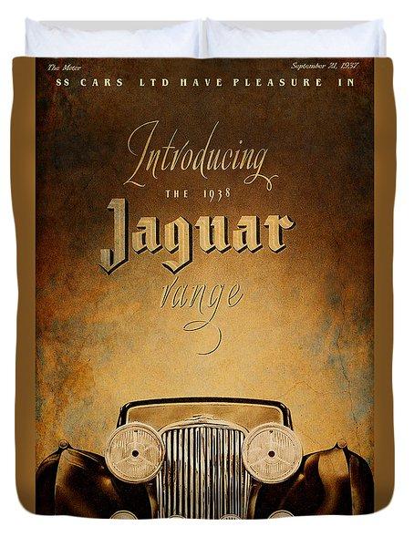 J A G Duvet Cover by Greg Sharpe