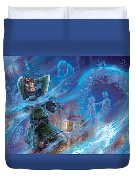 Jace's Origin Duvet Cover