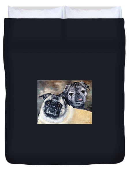Jack And Bella Duvet Cover