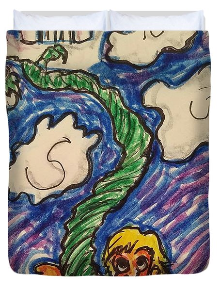 Jack And The Beanstalk Duvet Cover
