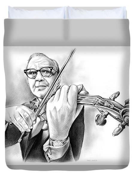 Jack Benny Duvet Cover by Greg Joens