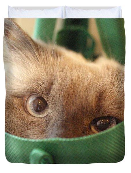 Jack In The Bag Duvet Cover