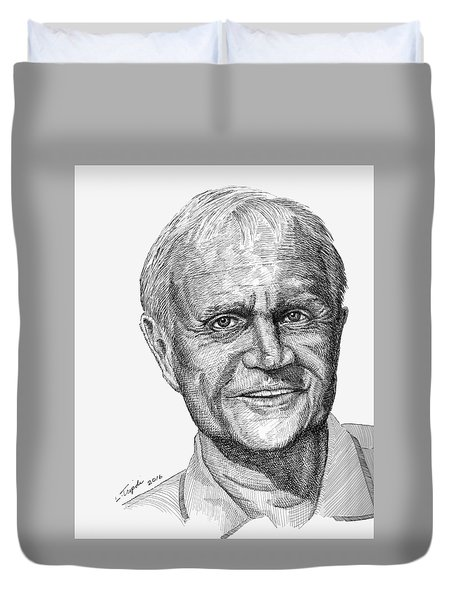 Jack Nicklaus Duvet Cover