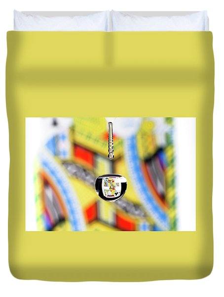Jack Of Clubs Duvet Cover