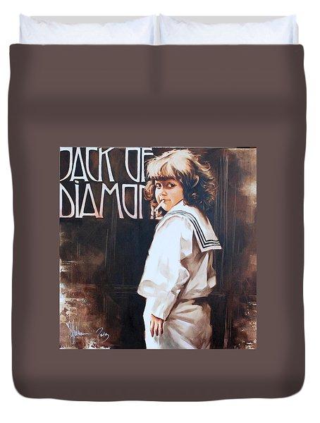 Jack Of Diamonds Duvet Cover