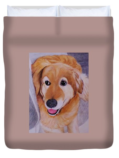 Jack Ready To Go Duvet Cover by Christy Saunders Church