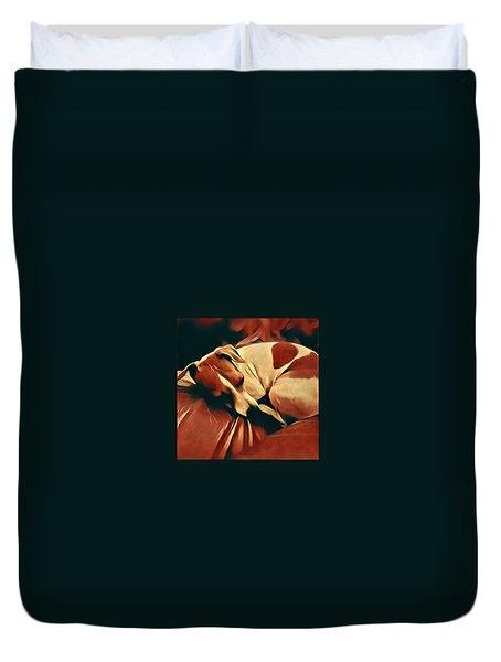 Jack Russell Duvet Cover