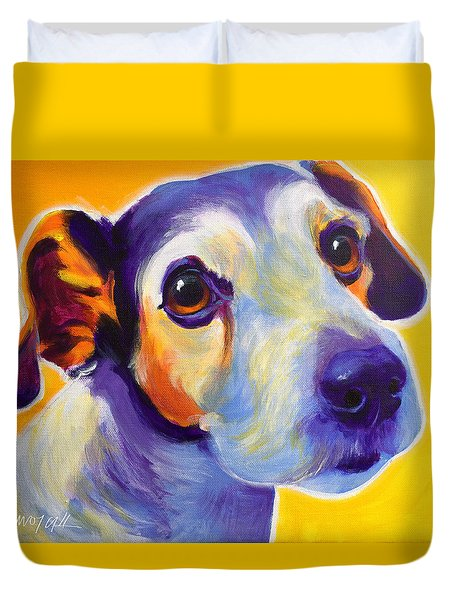 Jack Russell - Mudgee Duvet Cover