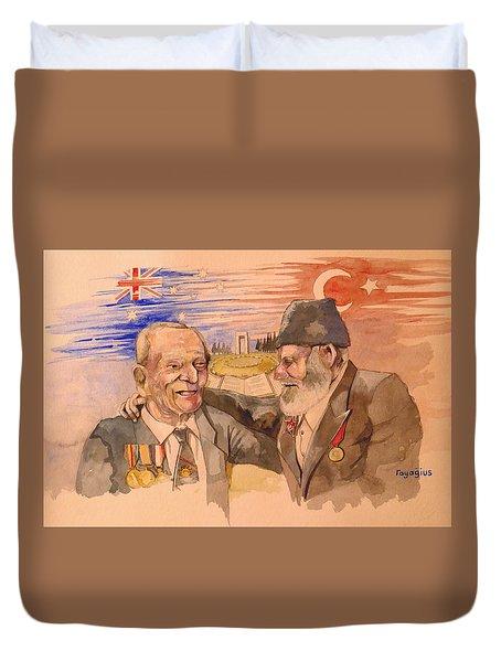 Jack Ryan And Hyseyin Kacmaz Duvet Cover
