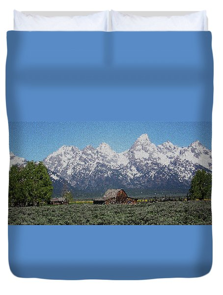 Jackson Hole Duvet Cover