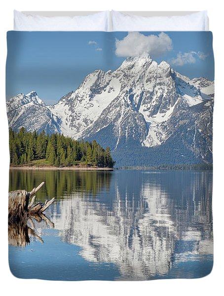 Jackson Lake, Gtnp Duvet Cover