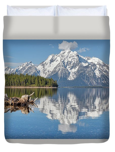 Jackson Lake, Gtnp Duvet Cover
