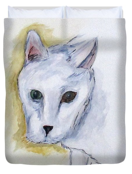 Jade The Cat Duvet Cover