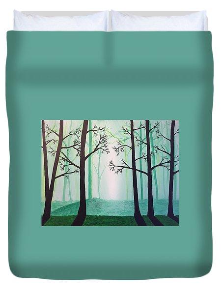 Jaded Forest Duvet Cover