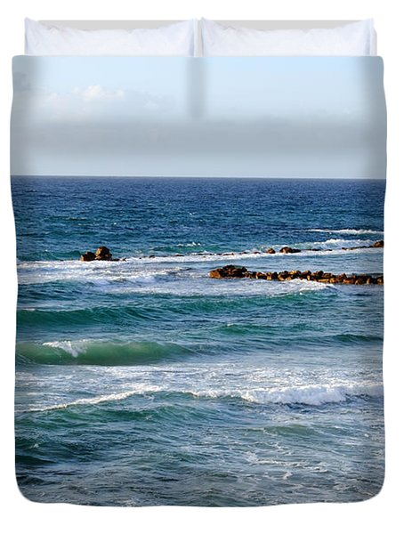 Jaffa Beach 10 Duvet Cover