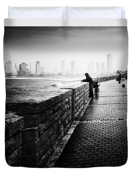 Jaffa Port Duvet Cover by Hayato Matsumoto