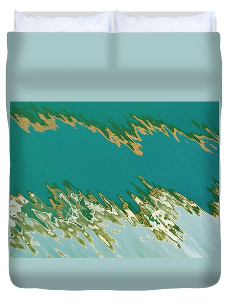 Jagged Reflection Duvet Cover
