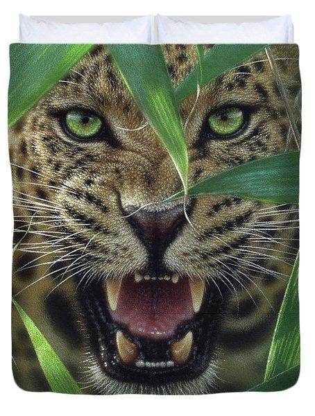 Jaguar - Ambush Duvet Cover