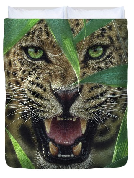 Jaguar - Ambush Duvet Cover