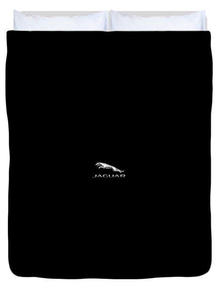 Jaguar Logo Duvet Cover