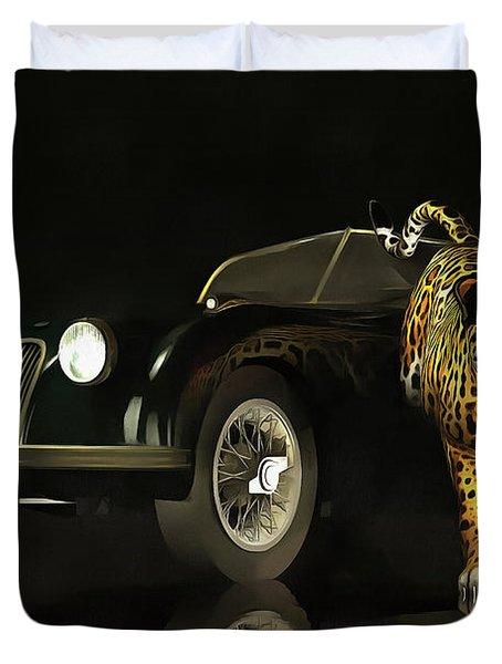 Jaguar Mk 3 Duvet Cover