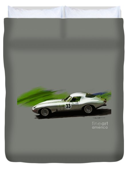 Jaguar Racing Duvet Cover