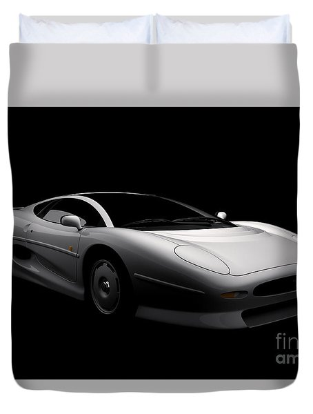 Jaguar Xj220 Duvet Cover