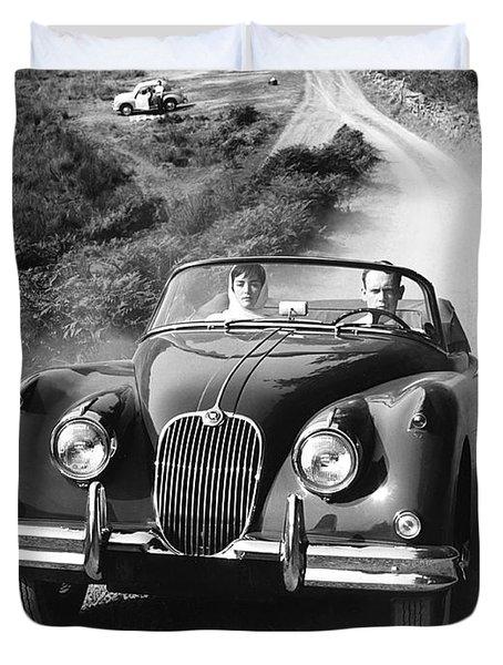 Jaguar Xk 150 Drophead Coupe Duvet Cover