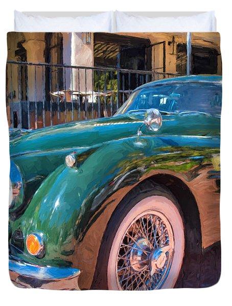 Jaguar Xk Classic Duvet Cover