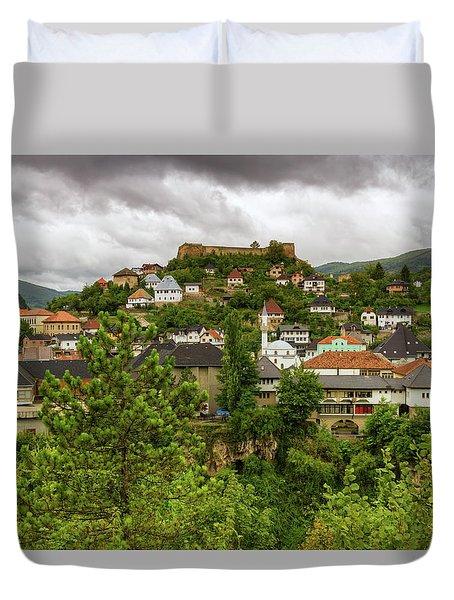 Jajce, Bosnia And Herzegovina Duvet Cover