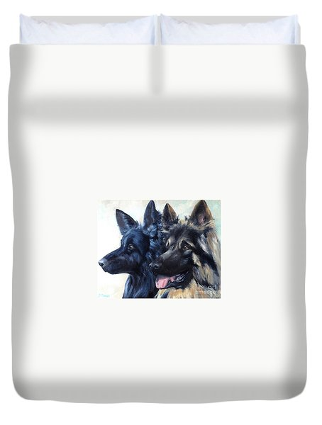 Jake And Shiloh Duvet Cover