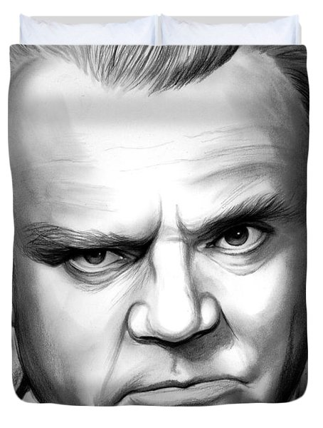 James Cagney Duvet Cover