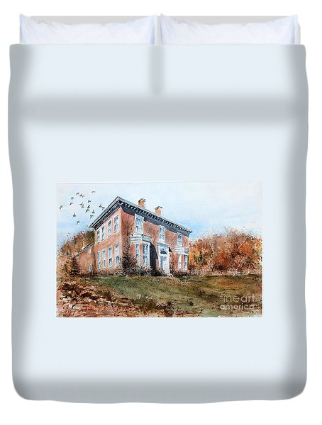 James Mcleaster House Duvet Cover