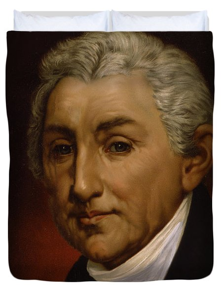 James Monroe - President Of The United States Of America Duvet Cover