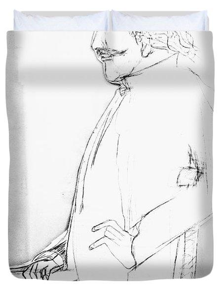 James Whistler's Portrait Duvet Cover
