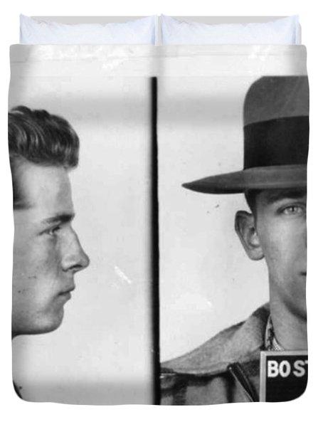 James Whitey Bulger Mug Shot 1953 Horizontal Duvet Cover