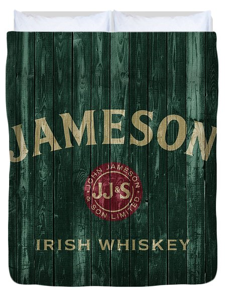 Jameson Irish Whiskey Barn Door Duvet Cover