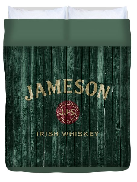 Jameson Irish Whiskey Barn Door Duvet Cover