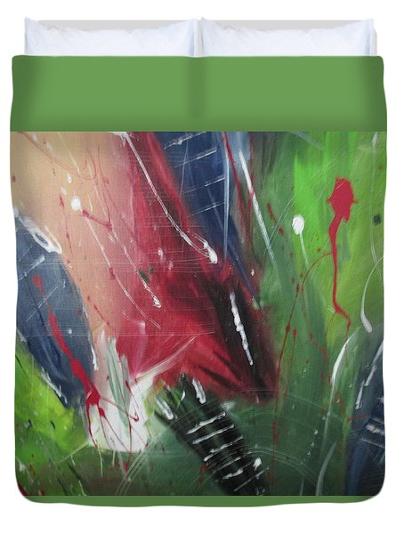 Jammin Duvet Cover by Sharyn Winters