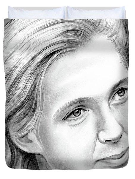Jane Goodall Duvet Cover